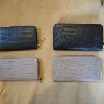 【 OUTER SUNSET  】ファー見えふわふわニットシリーズ【 Laboratorio Mariucci 】型押しレザー財布♩