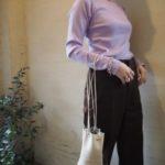 【 THE SHINZONE 】定番カットソー新色のご紹介♪ 【 mohi 】人気の巾着bag//