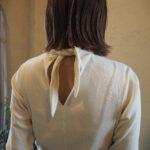 【DOMENICO +SAVIO】デザインに惹かれる→→scaef coller rib tops・サロペット・flared wide pants
