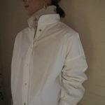 【 RUTILE original  】スタンドカラーロングシャツ 【 The Bagmati 】レザー切り替えカゴバッグ ♩