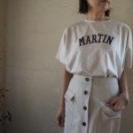 【 MICA&DEAL 】ロゴBig Tシャツ・フロントボタンスカート・リネンワンピース//